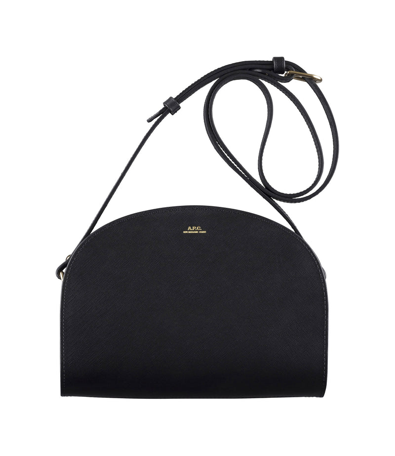 This is the Mini demi-lune bag product item. Style LZZ-1 is shown.