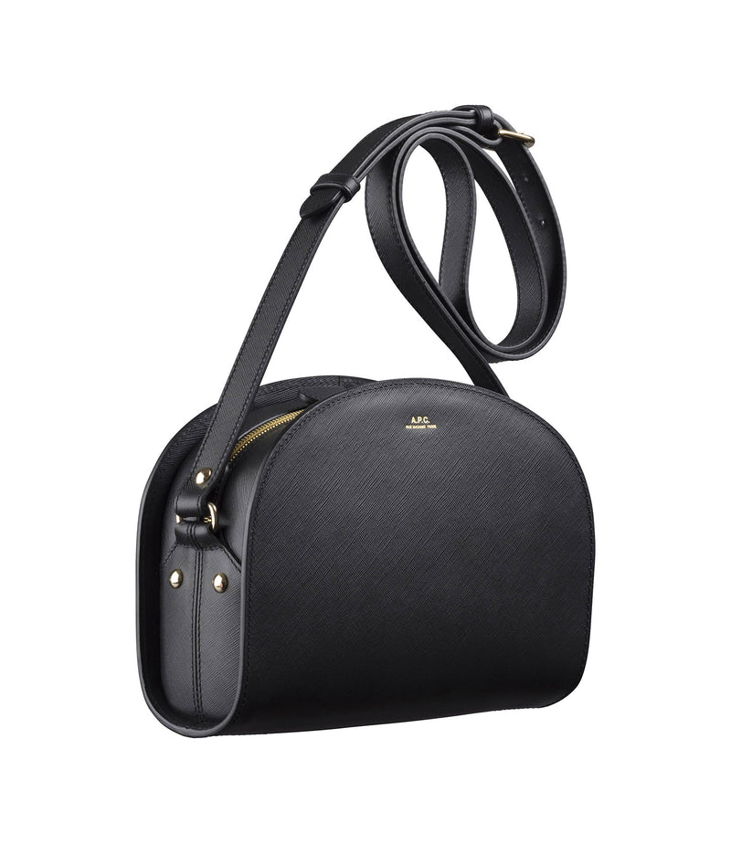 This is the Mini demi-lune bag product item. Style LZZ-3 is shown.
