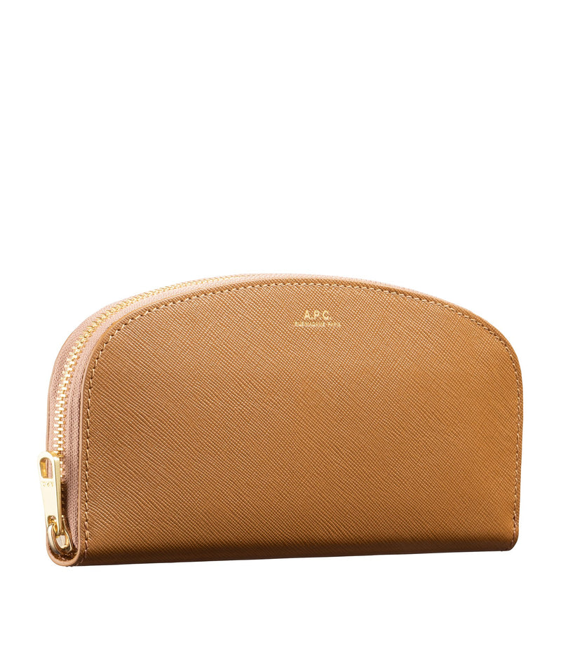 This is the Half-moon wallet product item. Style CAC-2 is shown.