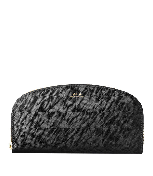 Demi-lune wallet - LZZ - Black