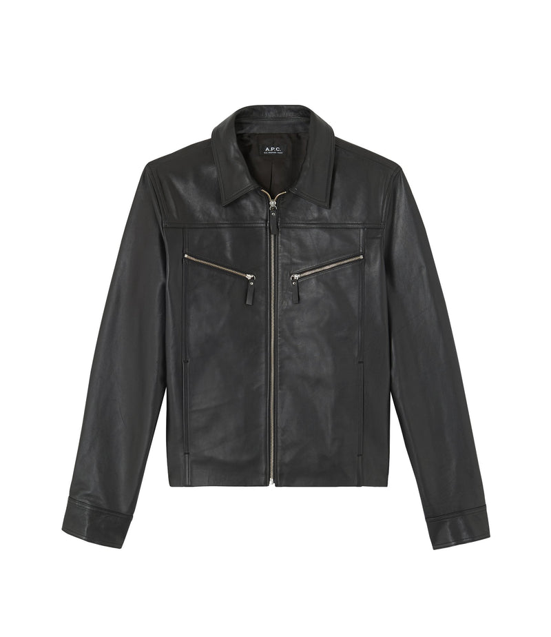 This is the Léandre jacket product item. Style LZZ-1 is shown.