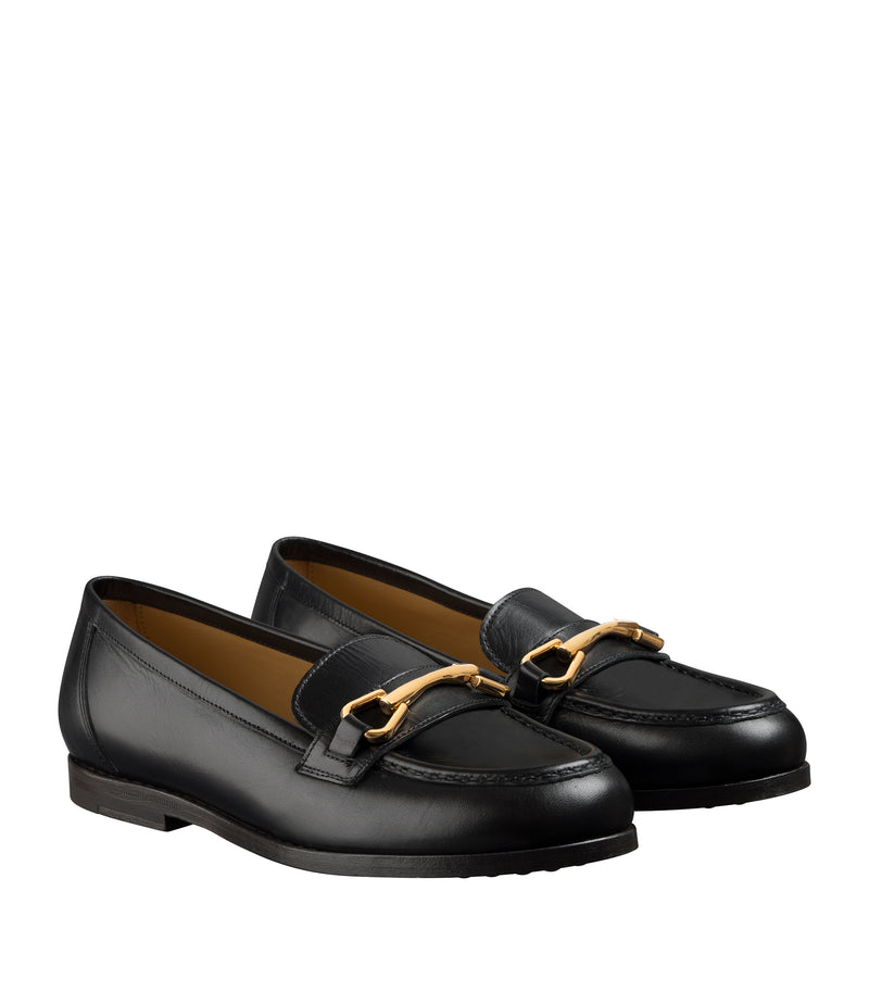 Daisy loafers - Black - Smooth leather