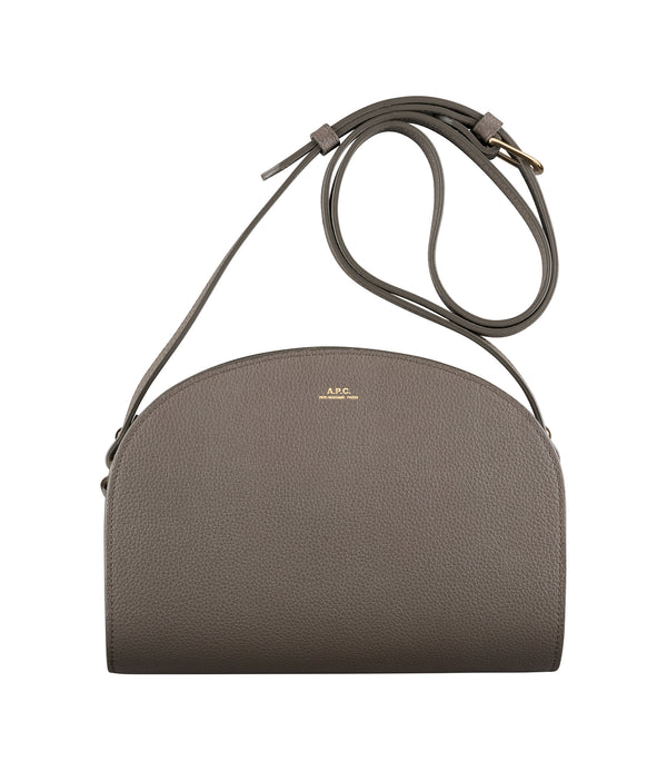 Demi-lune bag - LAA - Gray