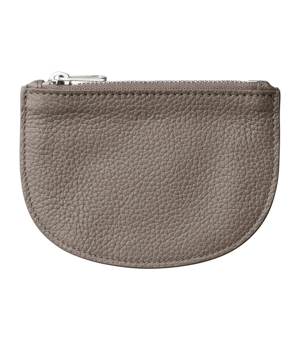 Demi-lune coin-purse - LAA - Gray