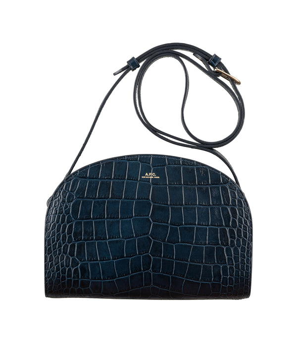 Demi-Lune bag - IAK - Dark navy blue