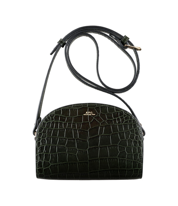 Mini Demi-Lune bag - KAF - Dark green