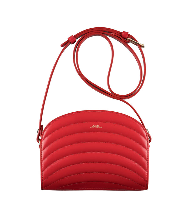 Demi-lune bag - GAA - Red