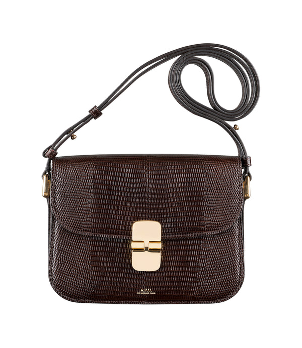 Grace Small bag - CAE - Dark chestnut brown