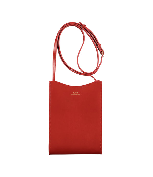 Jamie neck pouch - GAB - Red