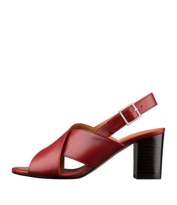 Joyce sandals - GAB - Dark red