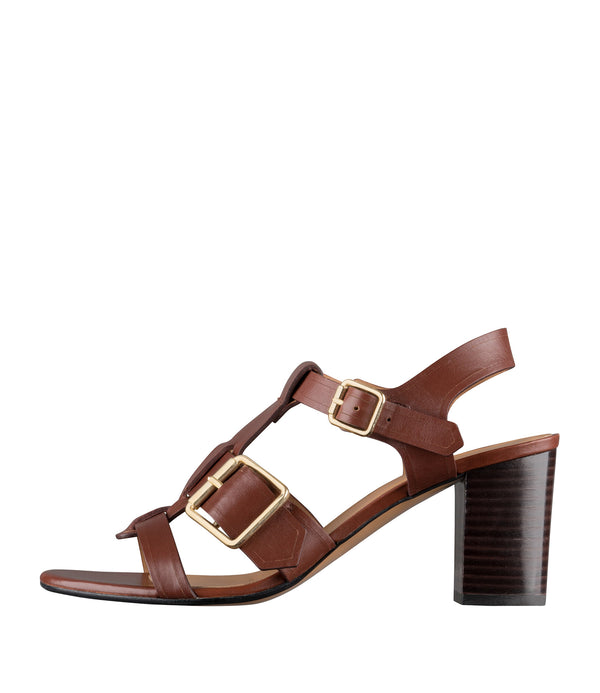 Elisa sandals - CAD - Nut brown