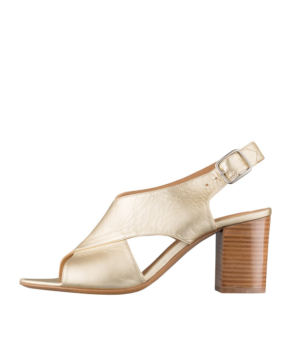 Eliane sandals - RAA - Goldtone