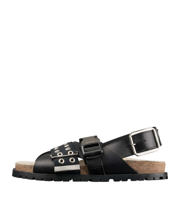 Jules sandals M - LZZ - Black