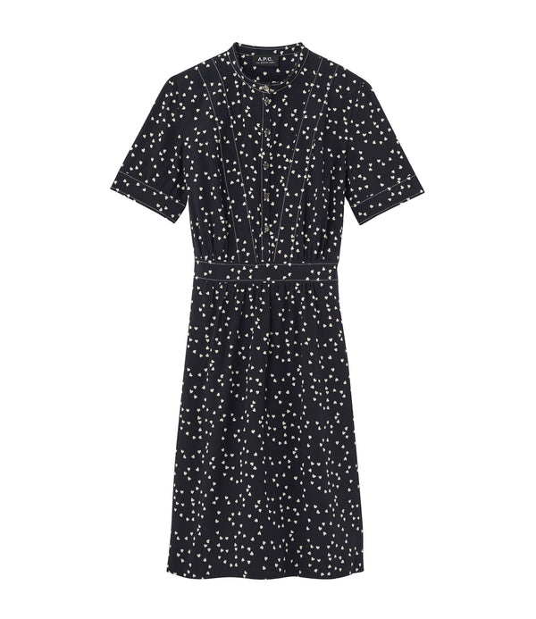 Camille dress - IAK - Dark navy blue