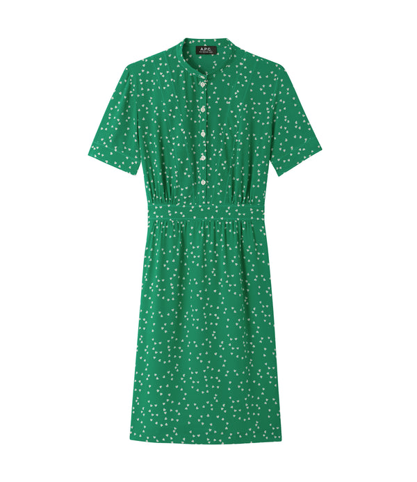Camille dress - KAA - Green