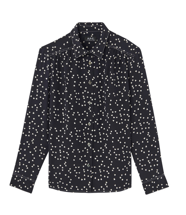 Sutton shirt - IAK - Dark navy blue