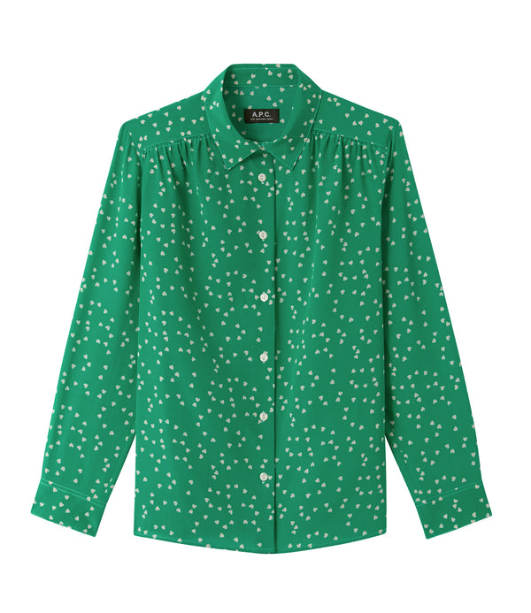 Sutton shirt - KAA - Green
