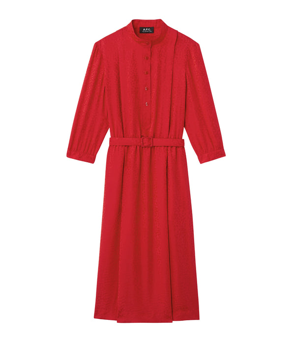 Marion dress - GAA - Red