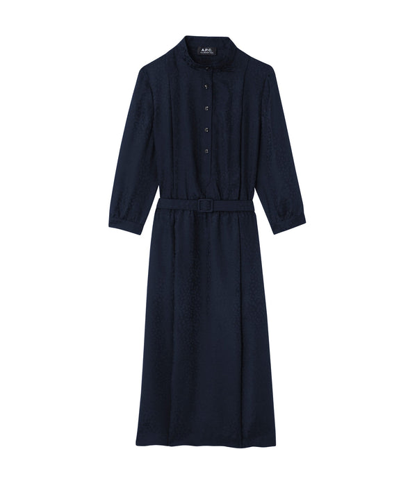 Marion dress - IAK - Dark navy blue