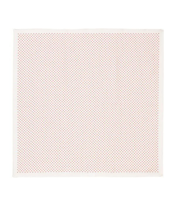 Polka-dot bandana - AAC - Off white