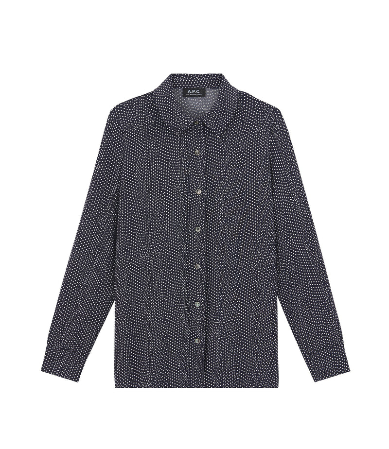 This is the Éléonore shirt product item. Style IAK-1 is shown.