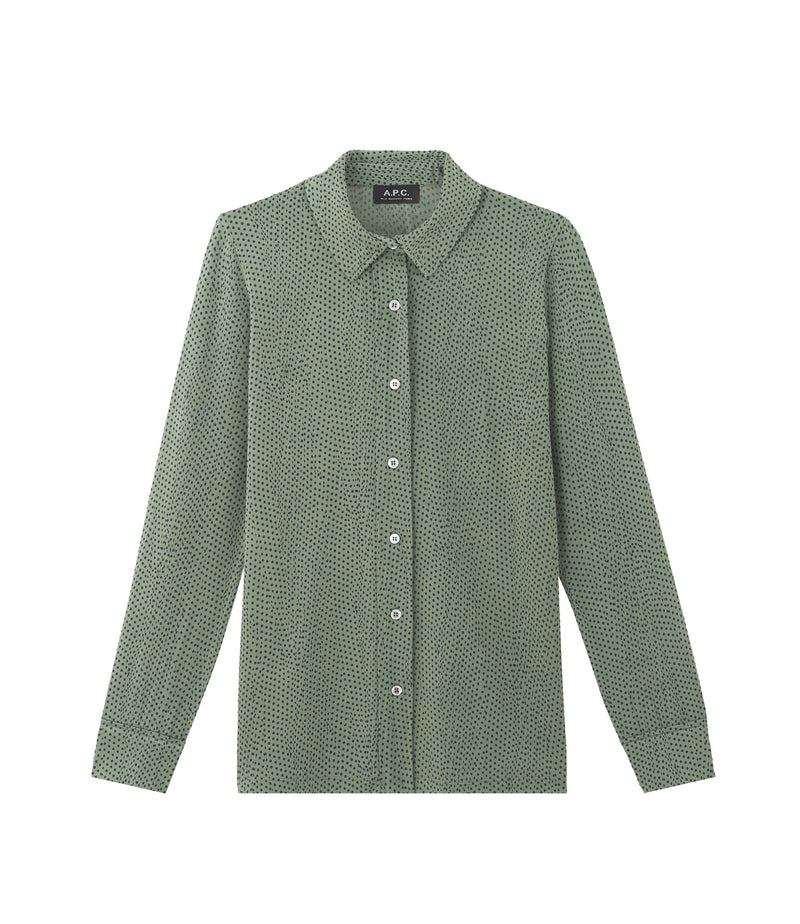 This is the Éléonore shirt product item. Style KAE-1 is shown.