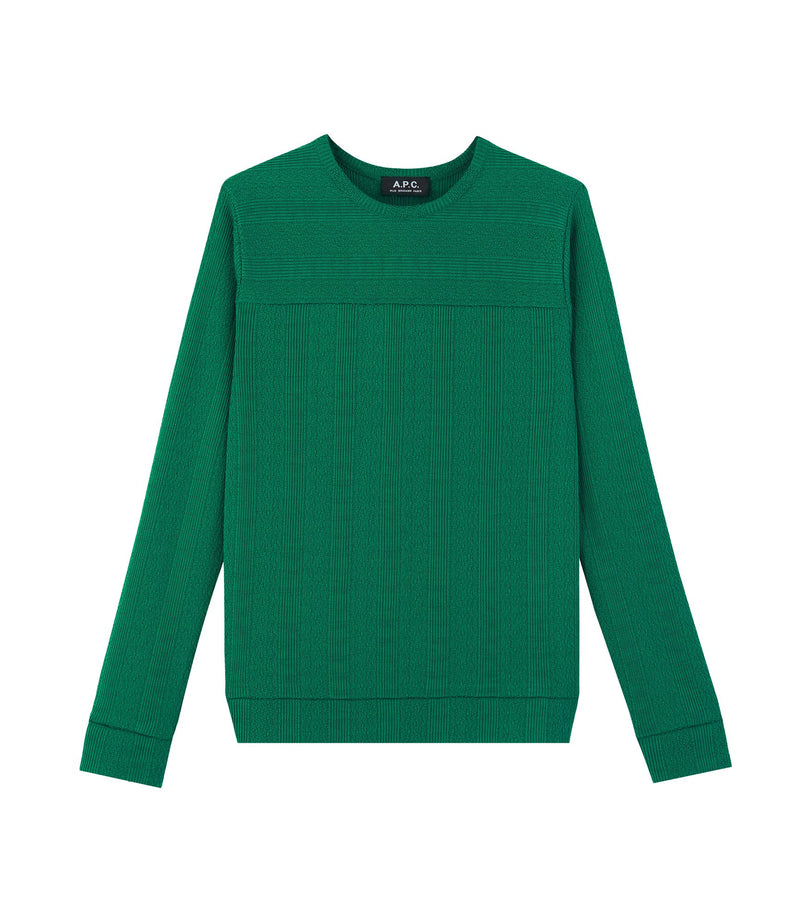 This is the Lines sweater product item. Style KAA-1 is shown.