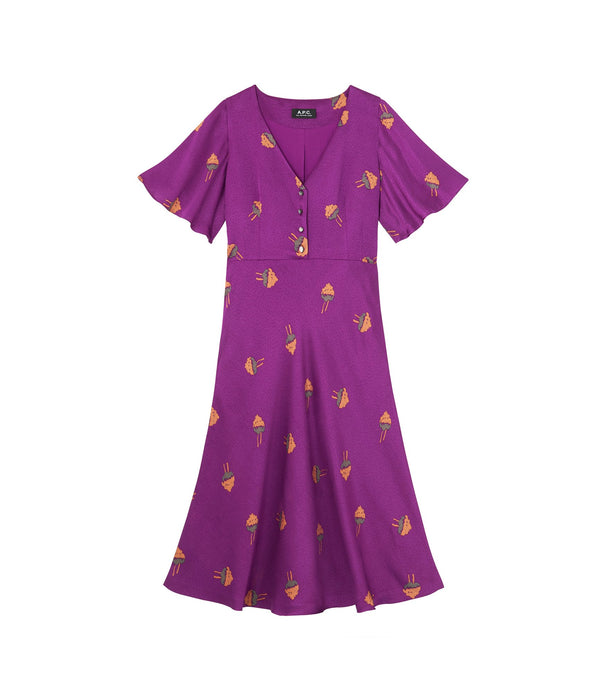 Lavinia dress - HAA - Violet