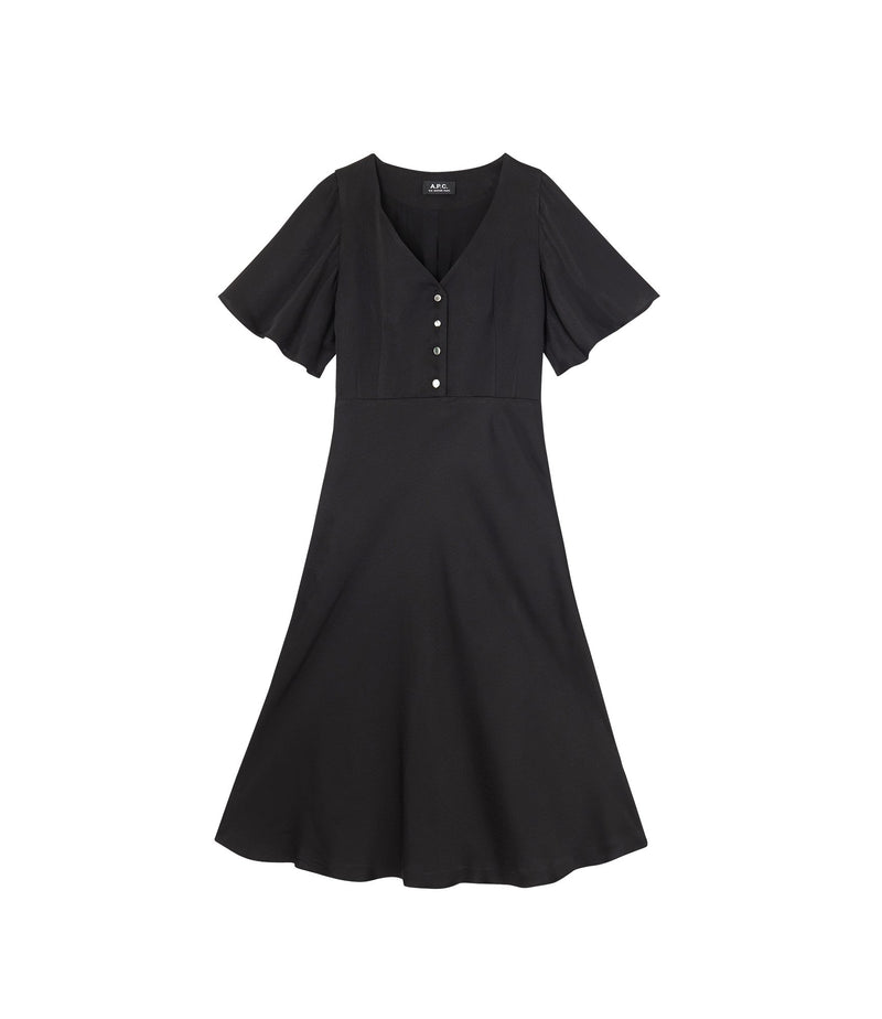 This is the Lavinia dress product item. Style LZZ-1 is shown.