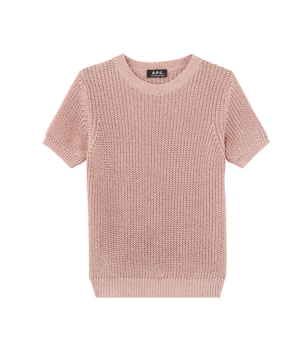 Audrey sweater - FAD - Powder pink