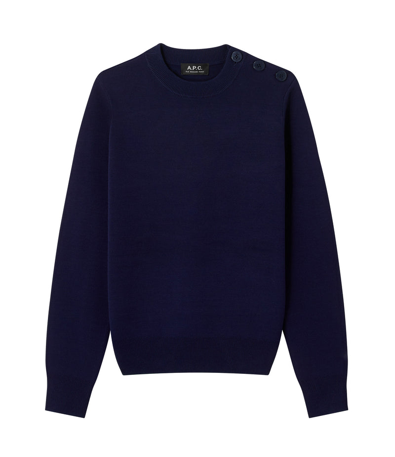 This is the Caroline sweater product item. Style IAJ-1 is shown.