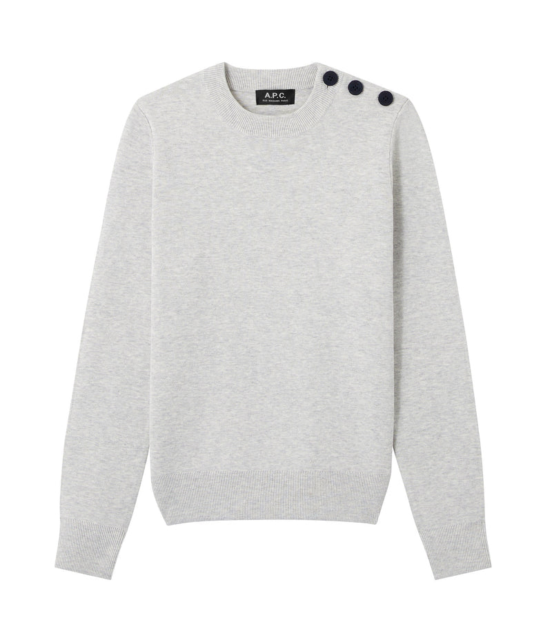 This is the Caroline sweater product item. Style PLB-1 is shown.