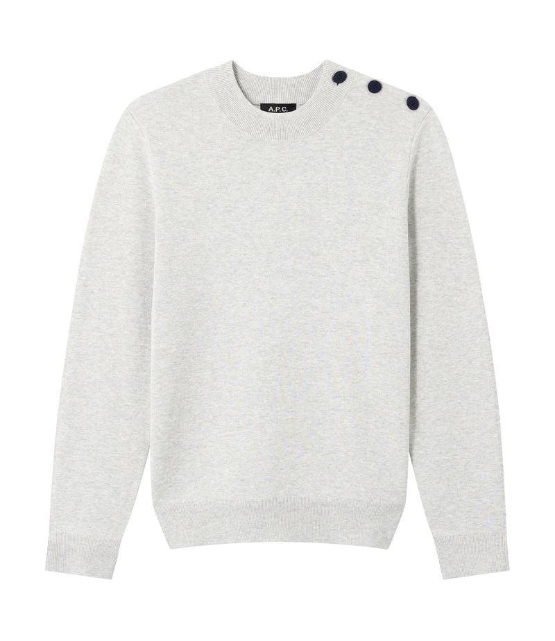This is the Leonard sweater product item. Style PLB-1 is shown.