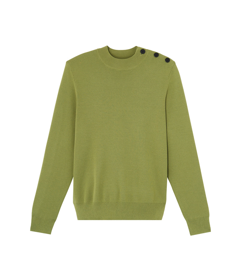 This is the Léonard sweater product item. Style KAD-1 is shown.