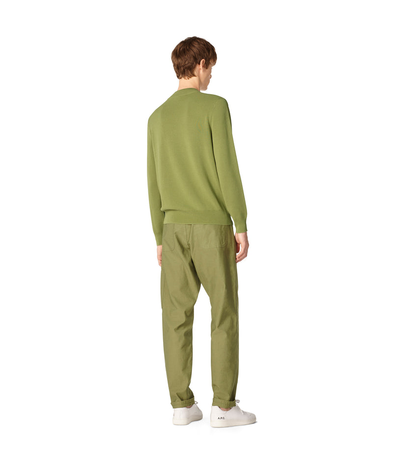 This is the Léonard sweater product item. Style KAD-3 is shown.