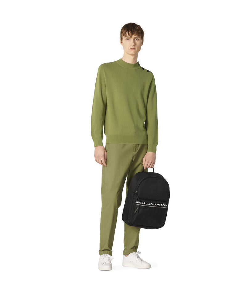 This is the Léonard sweater product item. Style KAD-2 is shown.