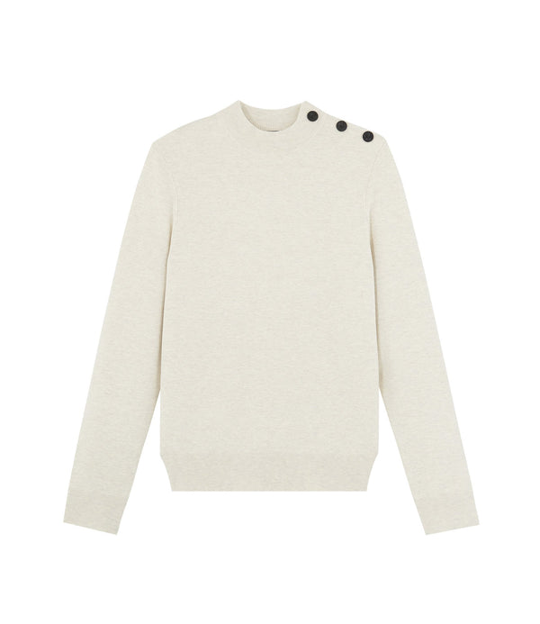 Léonard sweater - PAA - Heathered ecru