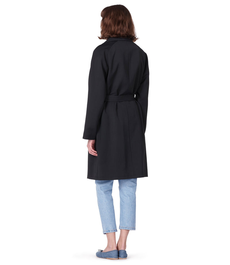This is the Bakerstreet coat product item. Style LZA-3 is shown.