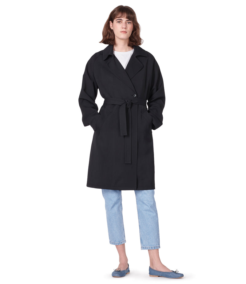 This is the Bakerstreet coat product item. Style LZA-4 is shown.