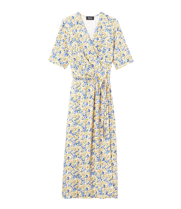 Mathilda dress - DAB - Pale yellow