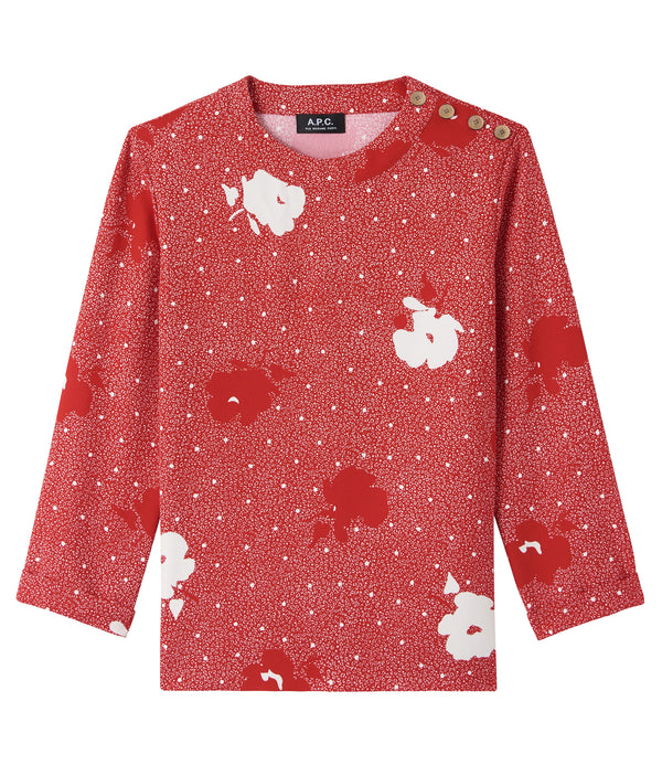 Sophie blouse - GAA - Red