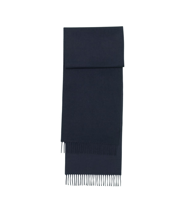 Ambroise scarf - IAK - Dark navy blue