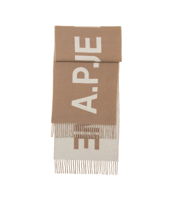 Angèle scarf - CAB - Camel