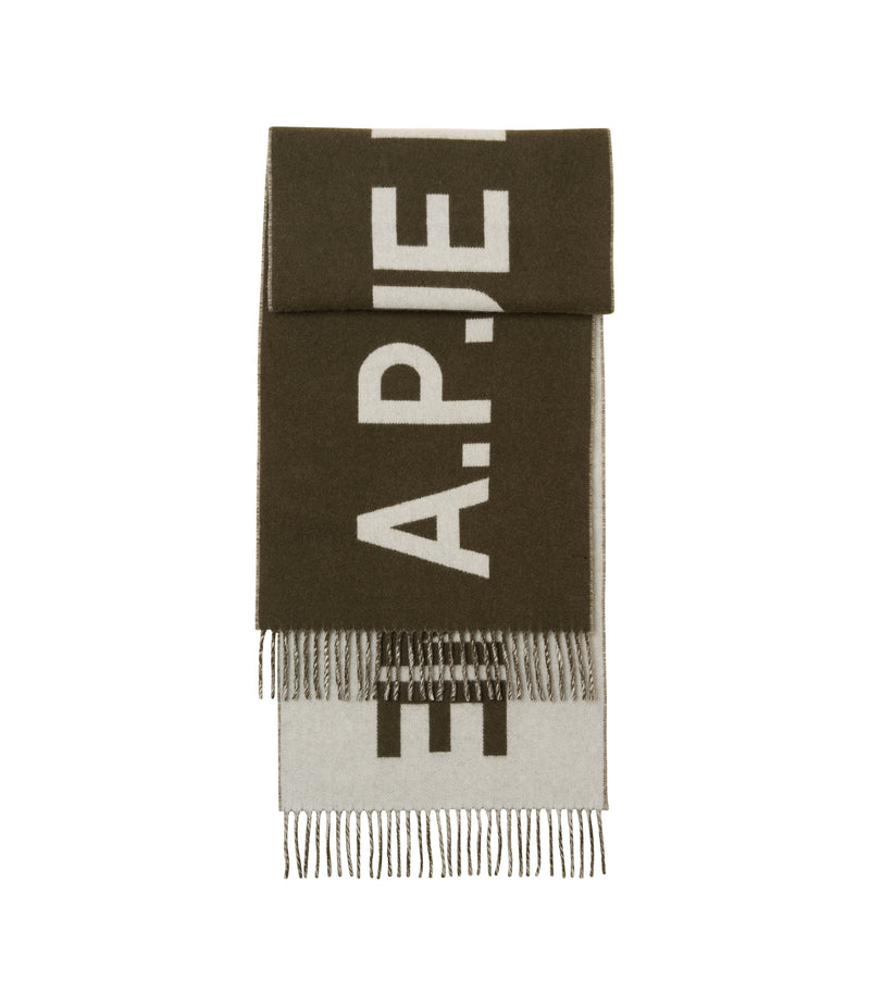 This is the Angèle scarf product item. Style JAC-1 is shown.