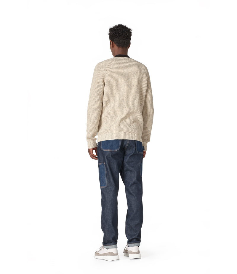 This is the Rib sweater product item. Style PAA-3 is shown.