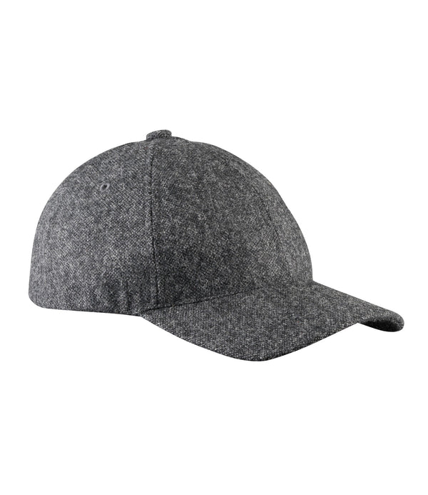 Aaron cap - PLC - Heather charcoal gray