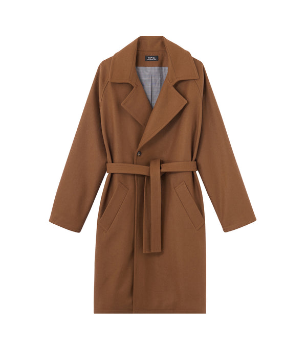 Bakerstreet coat - CAC - Frosted chestnut brown