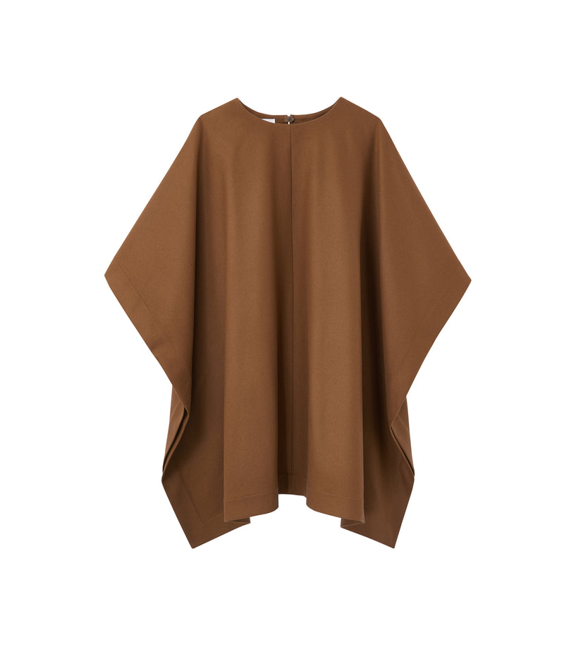 This is the Margarete poncho product item. Style CAC-1 is shown.