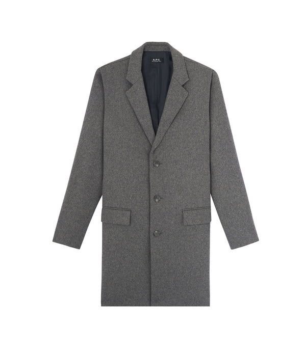 Visconti coat - PLA - Heather gray