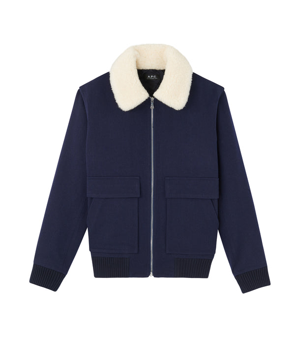 Bronze Jacket - PIA - Heather navy blue